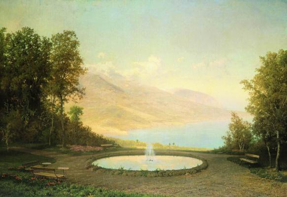 Fedor Alexandrovich Vasilyev. Eriklik. Fountain (Crimea)