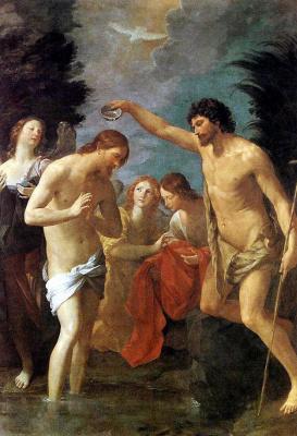 Guido Reni. The Baptism Of Christ