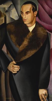 Tamara Lempicka. Portrait Of Guido Sommi