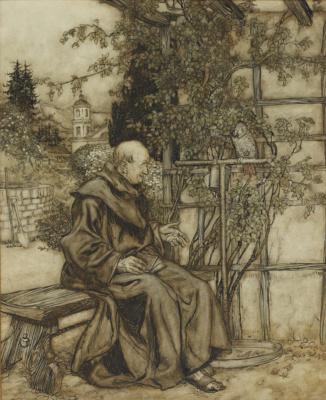 Arthur Rackham. Conversation