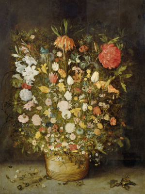 Jan Bruegel The Elder. Still life with a large bouquet