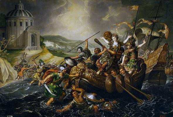 Хуан де ла Корте. Похищение Елены