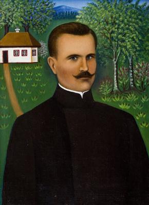 Якилина Ярмоленко. Портрет мужа