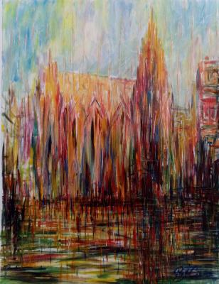Valerij Ivanovich Sosna. St. Stephen's Cathedral in Vienna