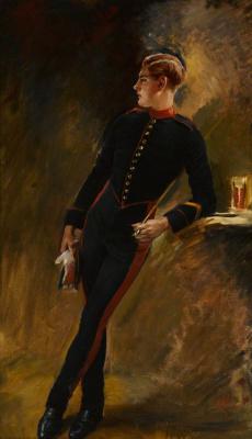 William Bruce Ellis Ranken. Trooper of Royal Horse Guards, in Walking-Out Dress