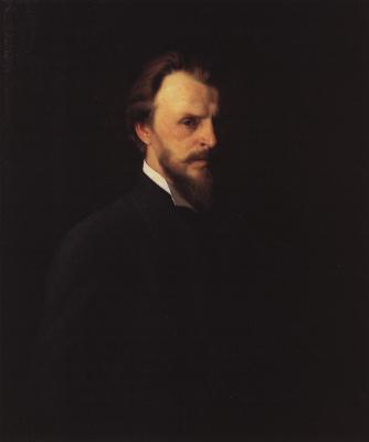 Grigory Grigorievich Myasoedov. Self portrait. 1878 State Tretyakov Gallery, Moscow