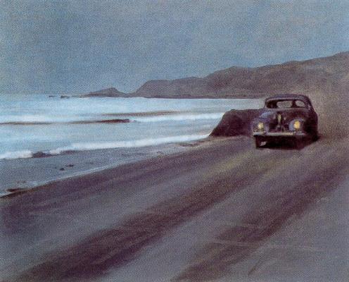 Авто на берегу