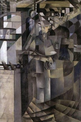Kazimir Malevich. Living in a big hotel