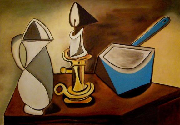 Авдей Степанович Тер-Оганьян. Picasso Still Life