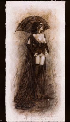 Luis Royo. The game of masks 1