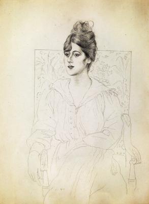 Pablo Picasso. Portrait of Madame Patri