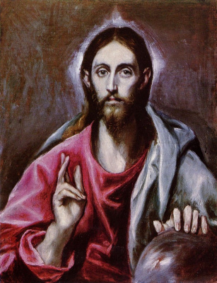Domenico Theotokopoulos (El Greco). The Savior