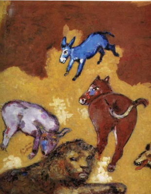Marc Chagall. Leo is old