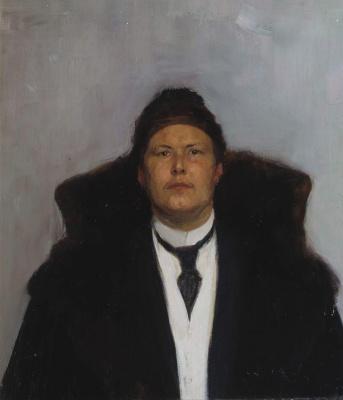 Mikhail Vasilyevich Nesterov. Portrait of a man