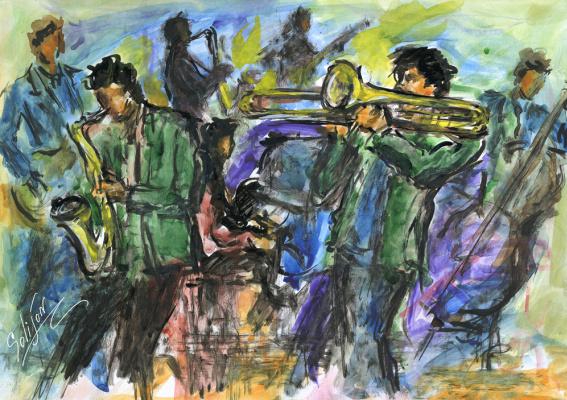 Salijon Mamatkulov. Jazz