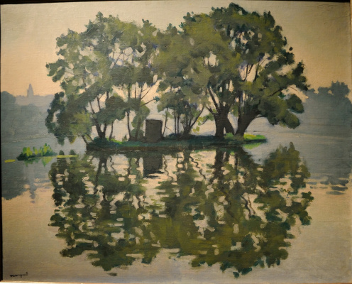 Albert Marquet. On Swan island. Herblay.