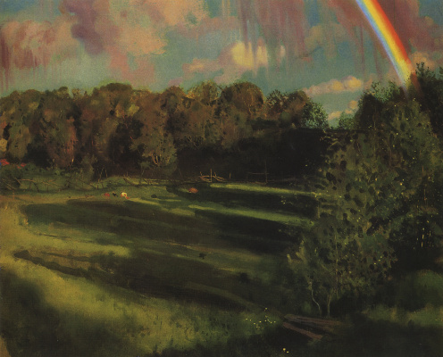 Constantin Somov. The shadows of the evening. Sillamae