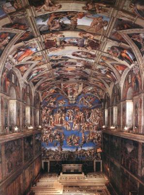 Микеланджело Буонарроти. Сикстинская капелла