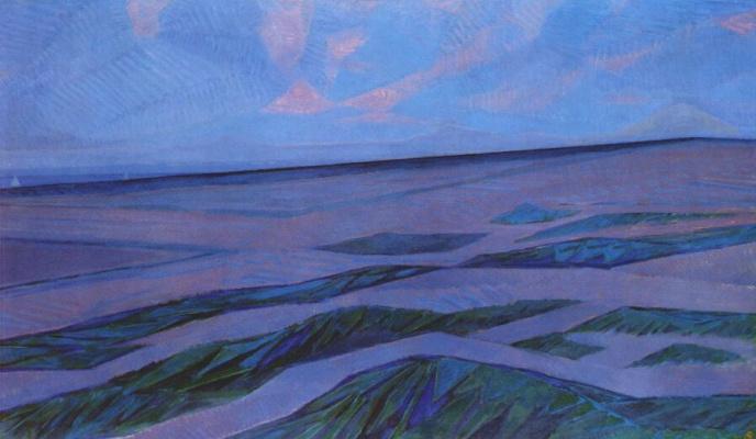 Piet Mondrian. Landscape with dunes