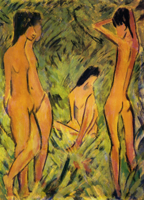 Otto Müller. Nude