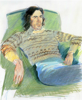 David Hockney. Ozzie sweater