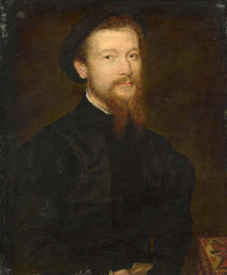Корнель де Лион. Портрет мужчины