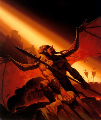 Gerald Brom. The onslaught