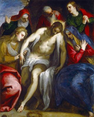 Джакомо Пальма Младший. Оплакивание Христа