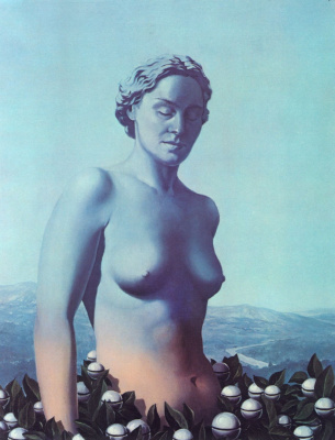 René Magritte. Black magic