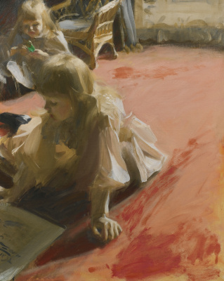 Anders Zorn. Portrait of the daughters of Ramon, Supercat