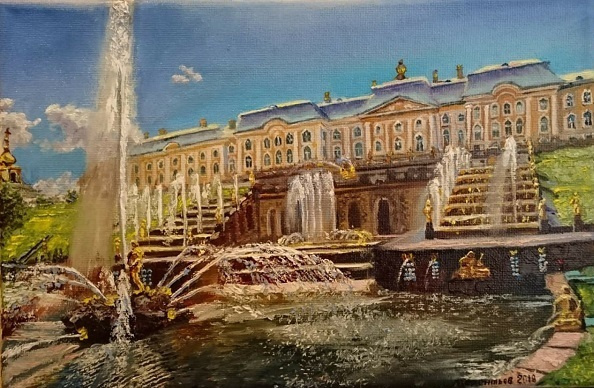 Evgeny Vladimirovich Terentyev. Peterhof