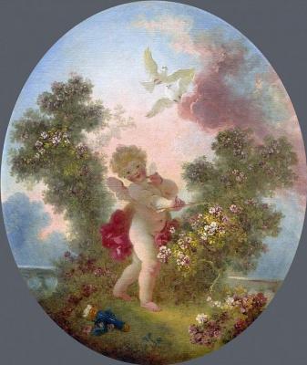 Jean Honore Fragonard. Guardian of love