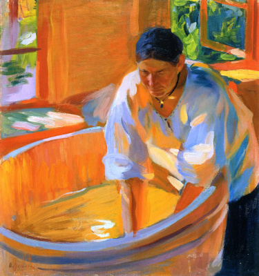 Alexander Murashko. Laundress