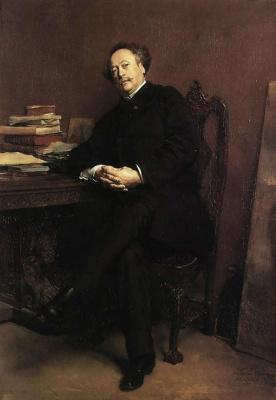 Жан-Луи-Эрнест Месонье. Портрет Александра Дюма