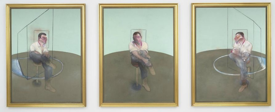 Francis Bacon. Three sketches for a portrait of John Edwards