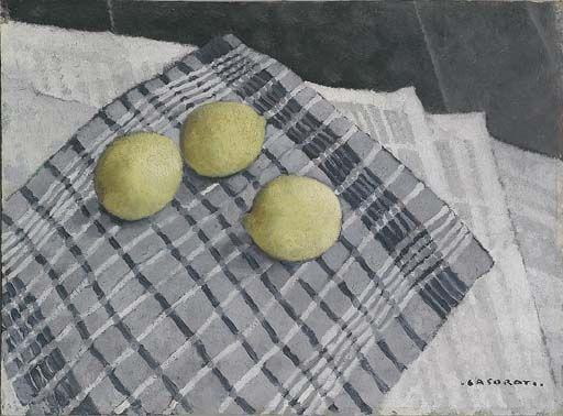 Felice Casorati. Lemons