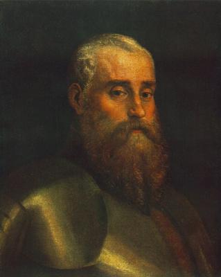 Paolo Veronese. Portrait of Agostino Barbarigo