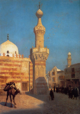 Jean-Leon Jerome. View Of Cairo