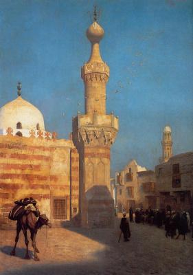 Жан-Леон Жером. Вид Каира