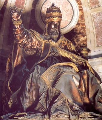Джованни Лоренцо Бернини. Гробница Папы Урбана VIII