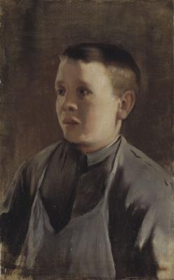 Santiago Rusignol. Portrait of a Boy