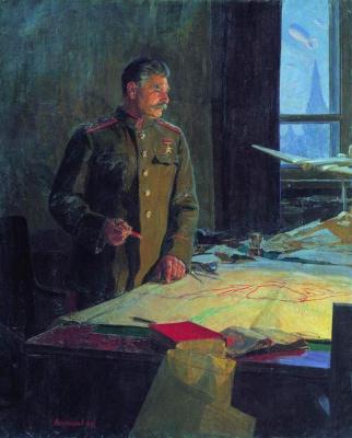Федор Павлович Решетников. Генералиссимус Советского Союза И.В.Сталин.
