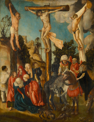 Lucas Cranach the Elder. The crucifixion