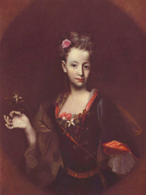 Иоганн (Ян) Купецкий. Портрет Франциски Вуссин