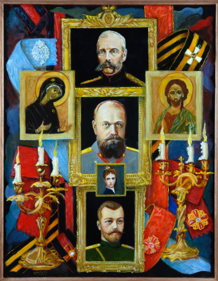 Юрий Антонович Хмелецкий. Реквием Х.,м. 90х70