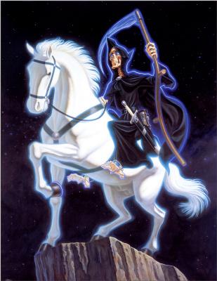 Пол Кидби. Белый конь