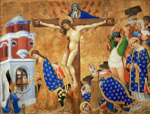 Алтарь Святого Дени. Последнее причастие и мученичество Святого Дени