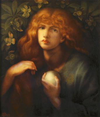 Dante Gabriel Rossetti. Mary Magdalene