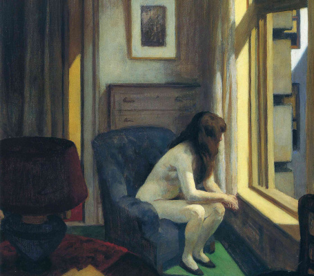 Edward Hopper. Eleven in the morning