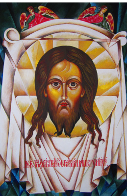 Peter Alexandrovich Shein. Linen boards with the face of the Savior, healed the king of Eden Avgar from leprosy.